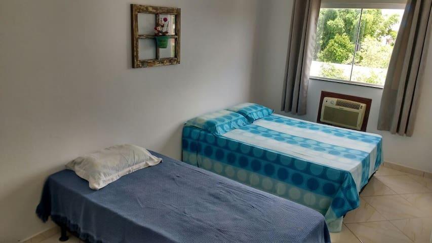 Quarto com ar e WC exclusivo, Ingleses - Floripa - Florianopolis