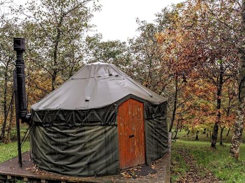 Alden Woodland Yurt, Cronkshaw Fold Farm