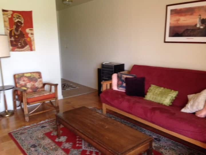 Nice quiet Furnished TWO BR apartment for rent