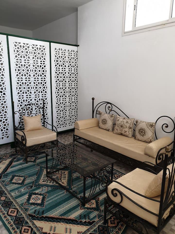 Mamounia's studio
