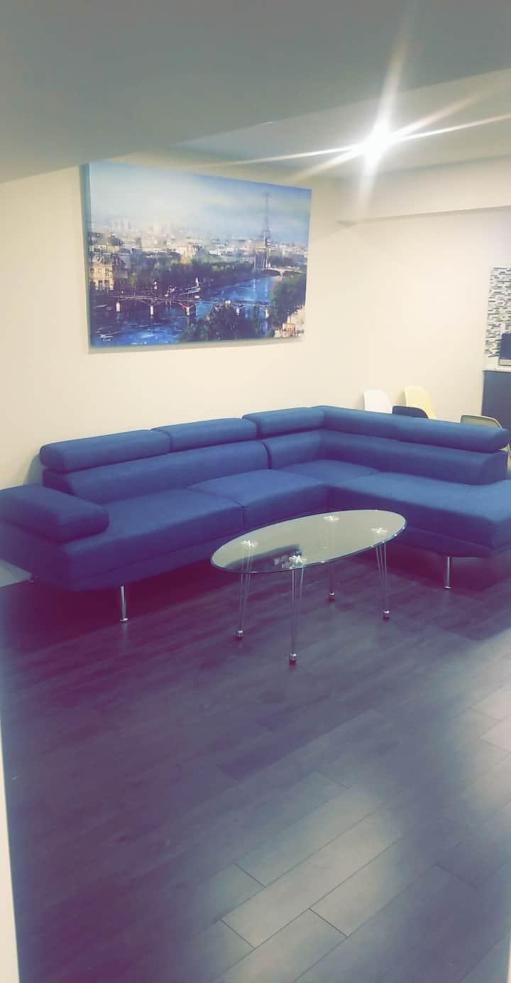 QSC Luxury 2 Bedroom Basement Apartment