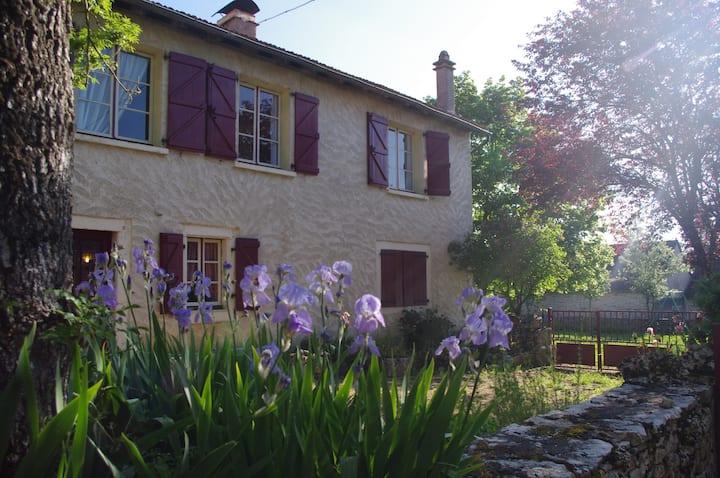 Maison du Lot entre Rocamadour et St-Cirq-Lapopie