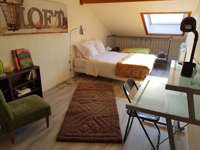 Belle chambre, appartement aux portes de Genève.