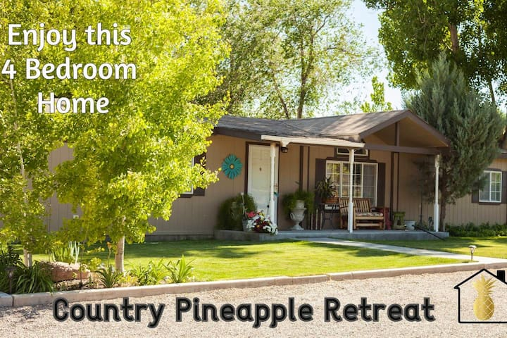 Country Pineapple Retreat - C.P.R. For your soul.