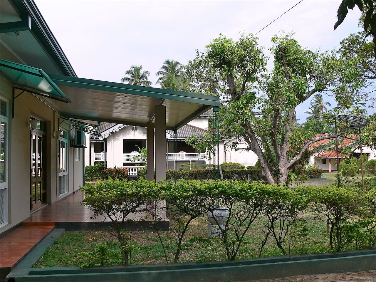 Guest House located in lush surroundings situated next to an ancestral house over 100 years old.