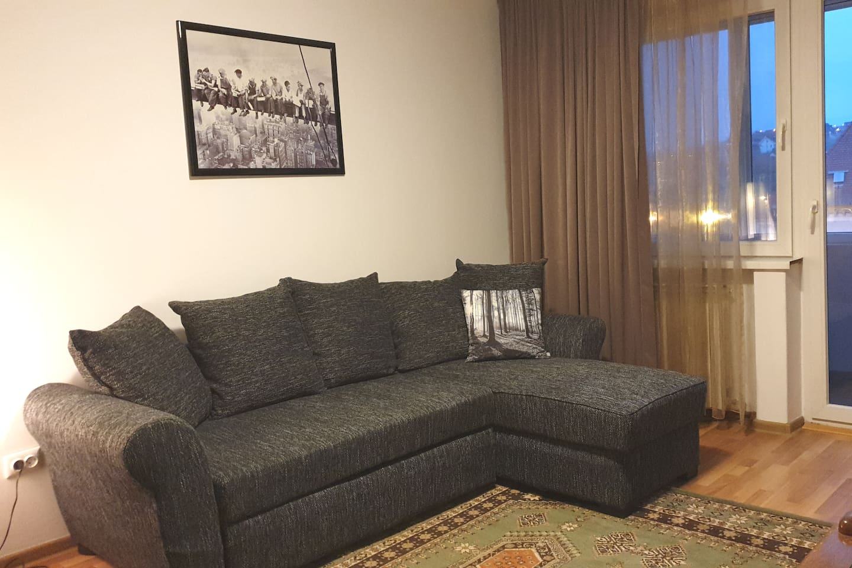 Living room/second bedroom