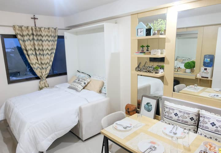 New Cozy Studio Unit Condo in The Heart of Cebu