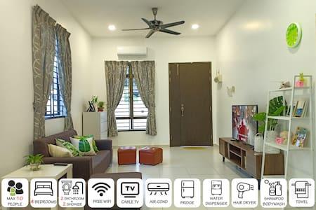 绿园小屋143号 Rui Homestay@Taman Kluang Indah