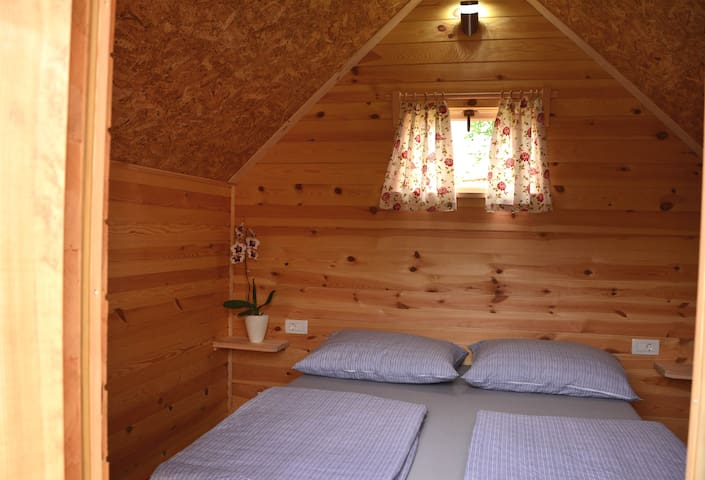 Glamping, wooden chalets - 2
