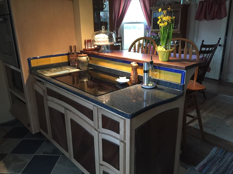 New cook top and bar