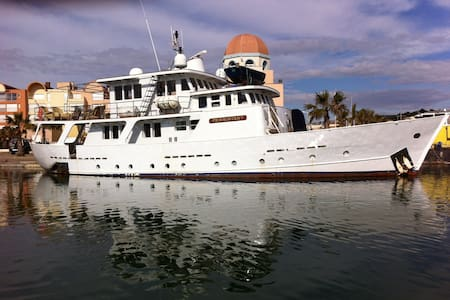 Suite sur yacht de charme - Gruissan