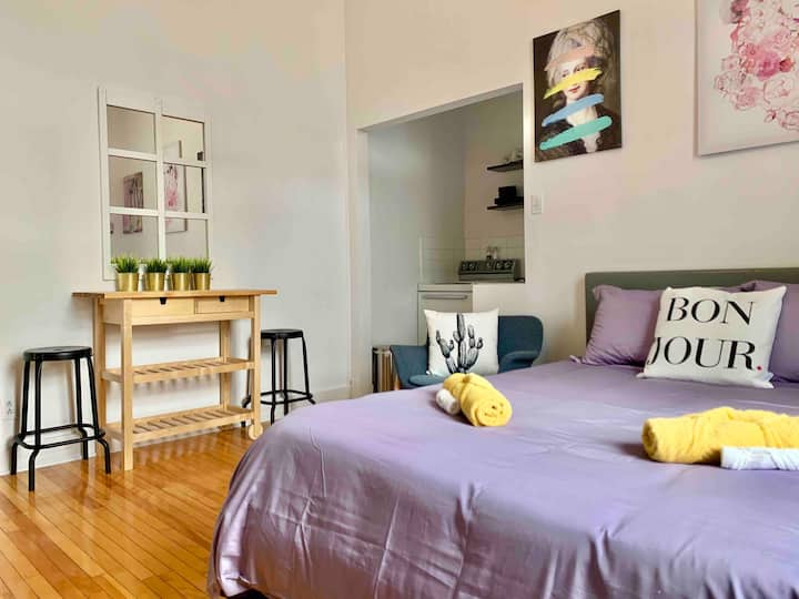 Charming studio in the heart of Old Quebec