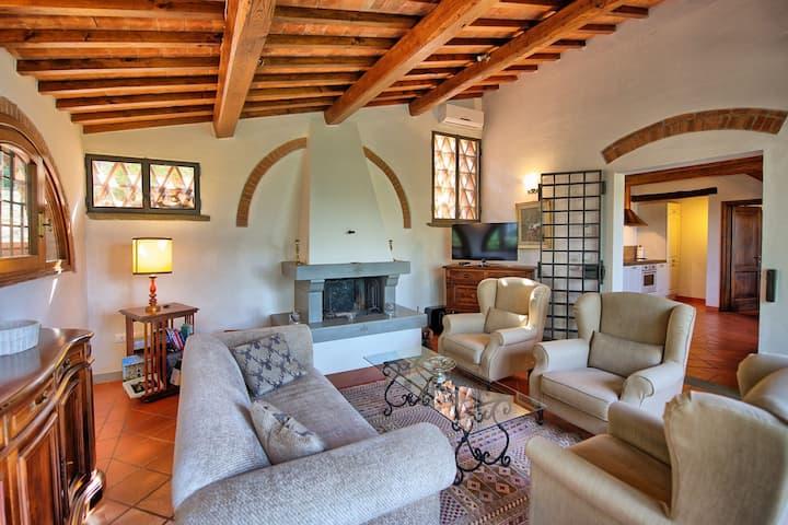 Villa Grazia: 3 bedroom Tuscany villa with pool