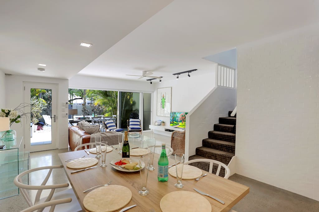 Open plan living which spills out to your private courtyard