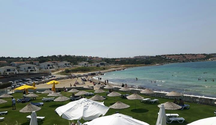 Çeşme deniz yanı daire, Çeşme house near the beach