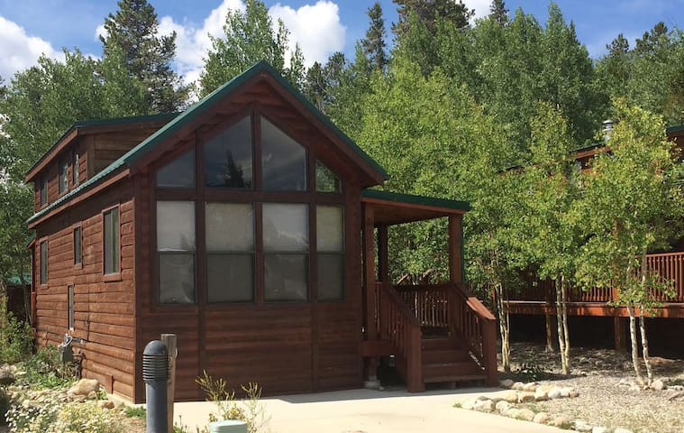 **Cozy Fairplay Tiny Cabin/30 min to Breck**