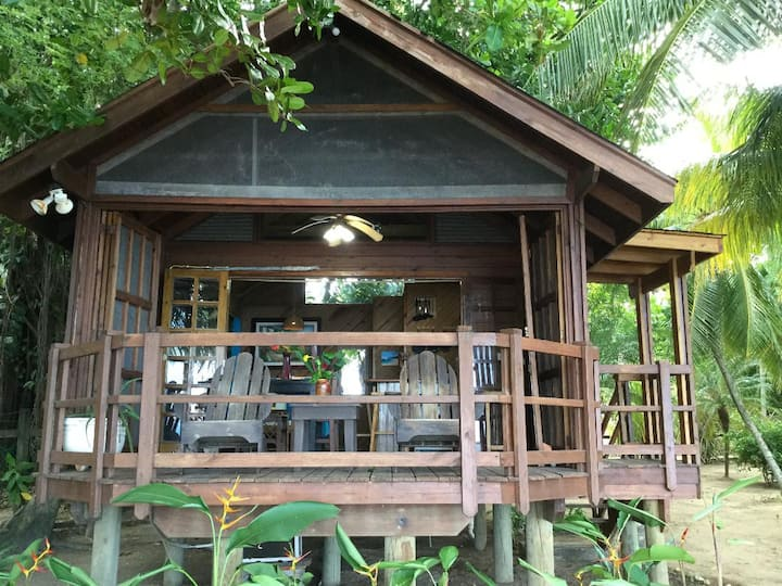 Private Beachfront Cabana Guesthouse