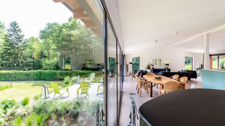 Beautiful villa in countryside 2H from Paris (6p)