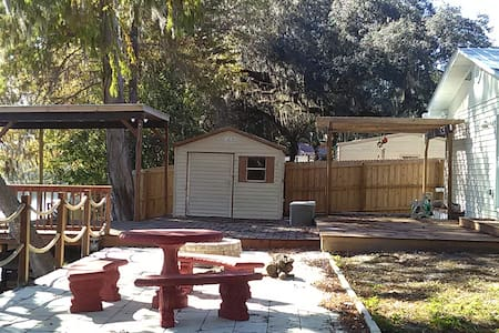 2 BR Home & Private Dock on the Tsala Apopka Chain - Floral City