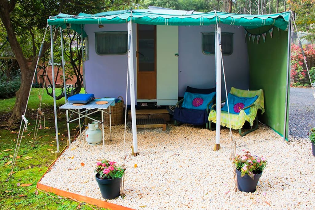 Privacy with a lovely outlook. Stay and relax or go hiking...
