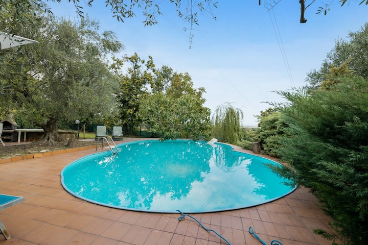 Apartment with 3 bedrooms in Fabrica di Roma, with private pool, enclosed garden and WiFi - 10 km from the beach