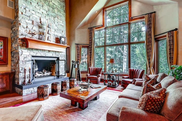 A chef's dream kitchen with skier perfect location