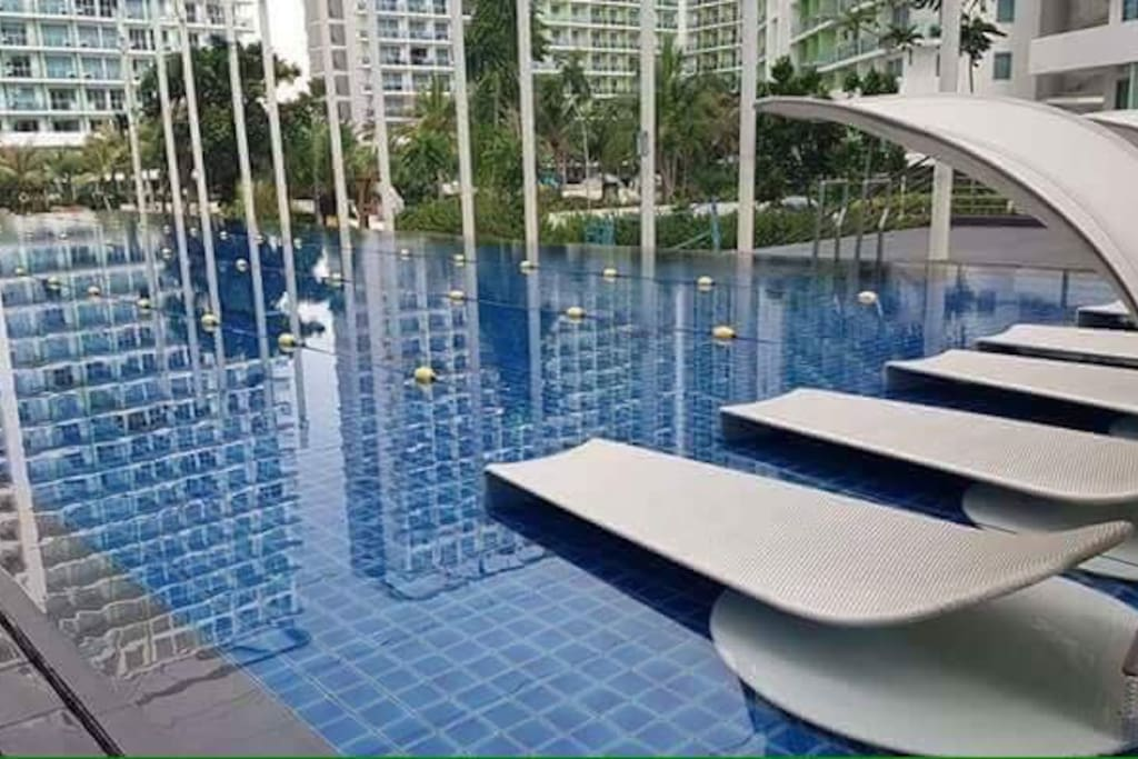 Lap pool for residence and for Long term tenants