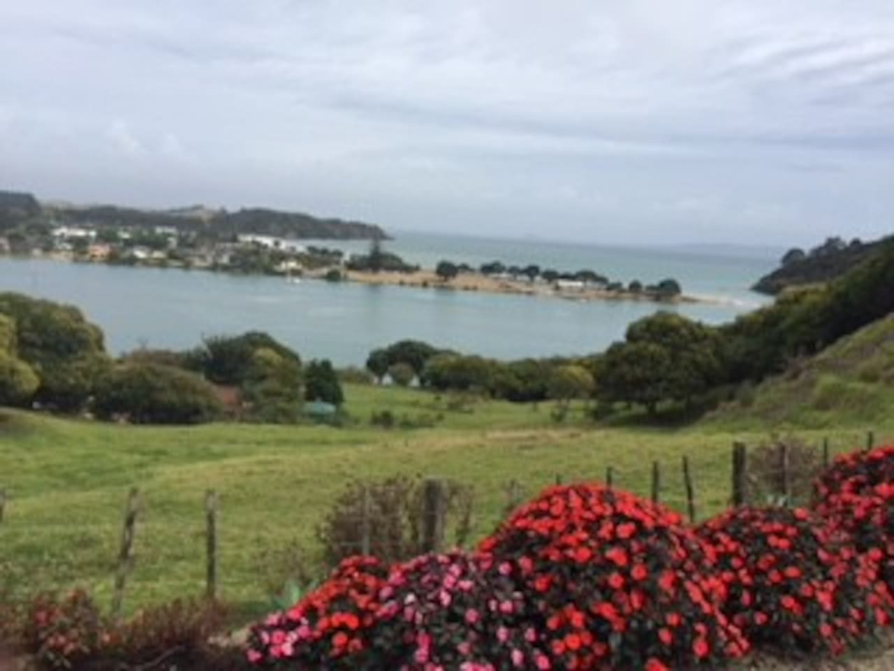 7 acres and sea view from cottage