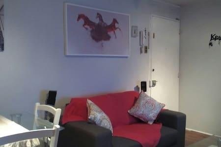 Habitación con 2 camas de 1 plaza - Las Condes - Apartamento