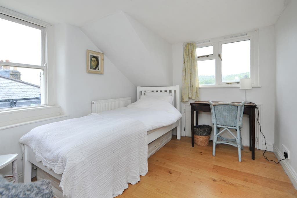 Enjoy the far reaching views over Bath from the garret bedroom.