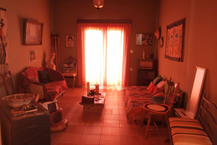 Apartment with garden in a village - Heraklion - Bed & Breakfast