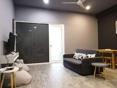 IMAGO MALL UPSTAIR - 2 BEDROOMS IMAGO商场楼上-两房高级公寓