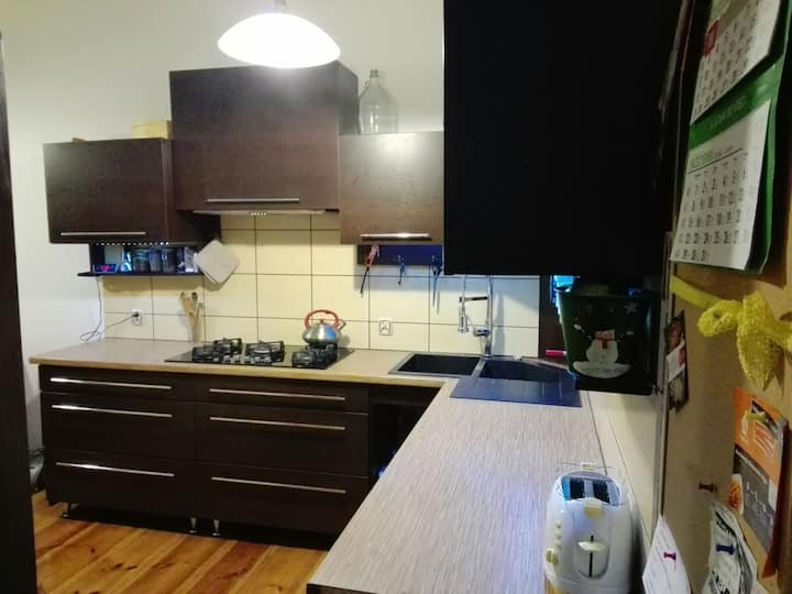 Single room in a flat in Bydgoszcz