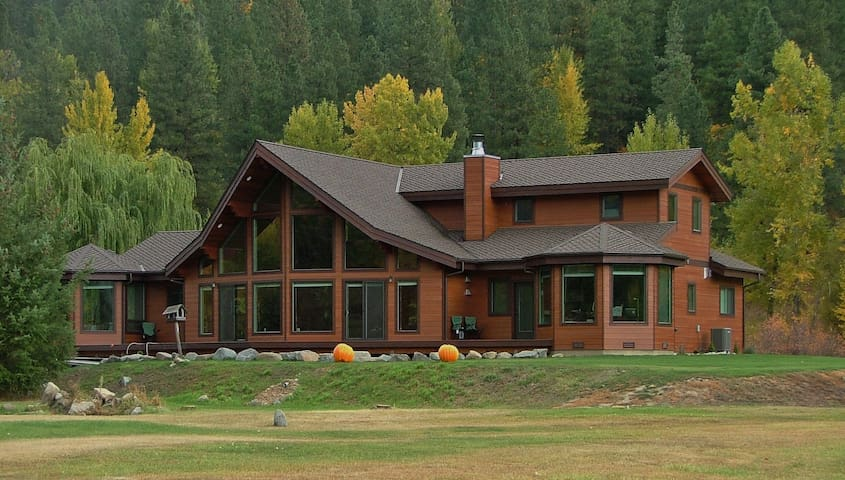 Chalet on 5+ Acres