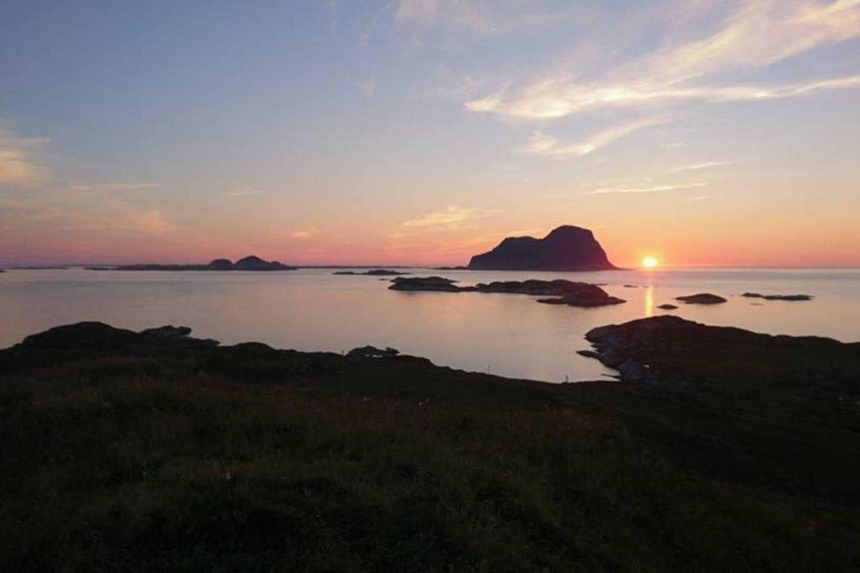 View of Alden Island from Aralden Island