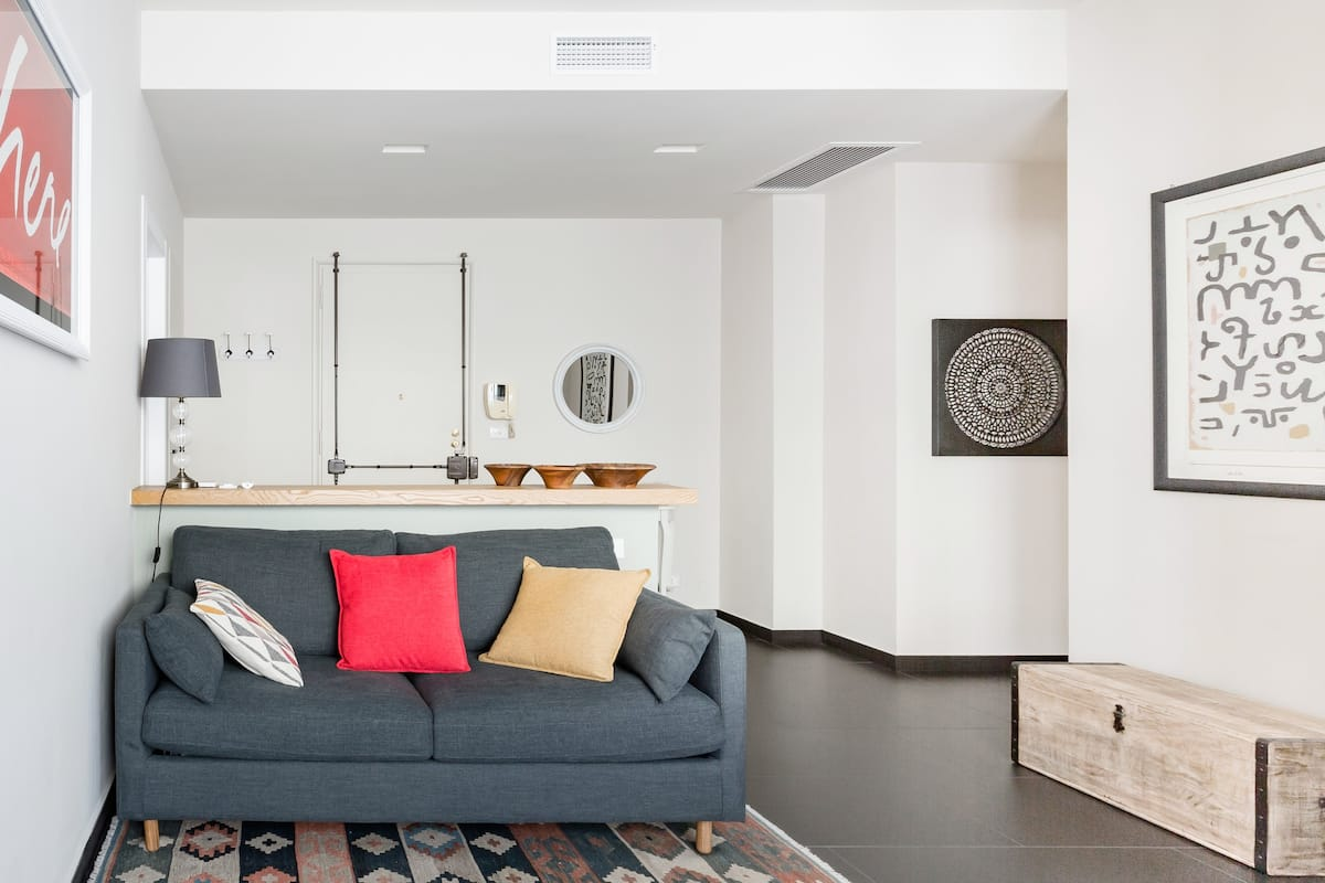 Here Apartment.  Visit Turin from a Sleek Apartment