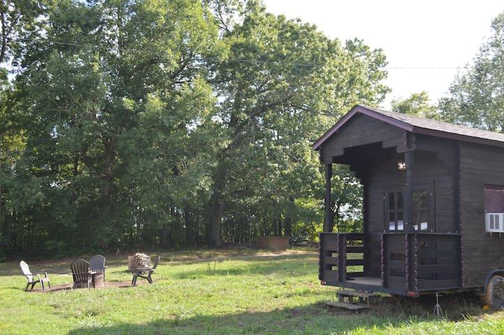 Yoda's Pagoda - Tiny House on Sustainable Farm