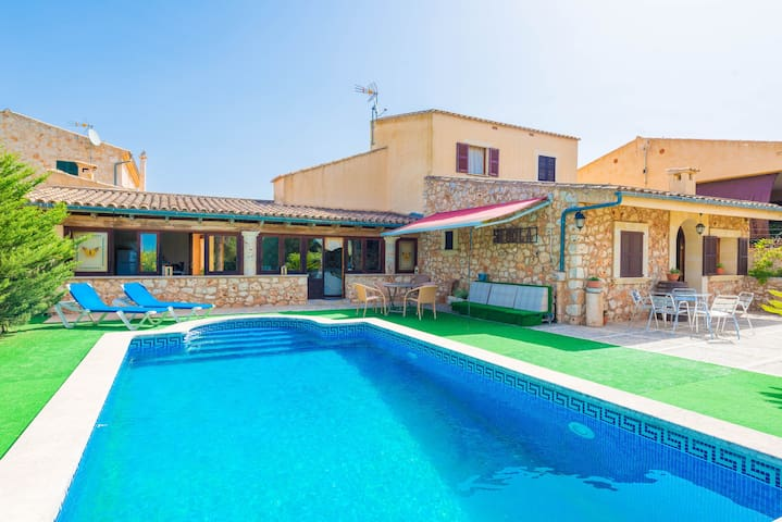 Sineveta - Beautiful villa with private pool - Sineu - Casa