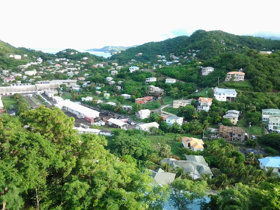 VIEW OF THE HARBOR/GRAND ANSE AREA