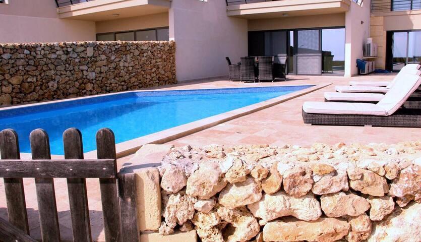 5* luxury Apartment Gozo-Malta - San Lawrenz - Wohnung