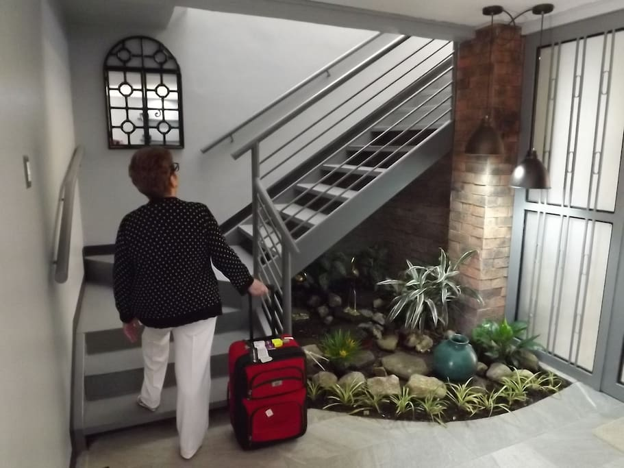 Your own private entrance to your suite