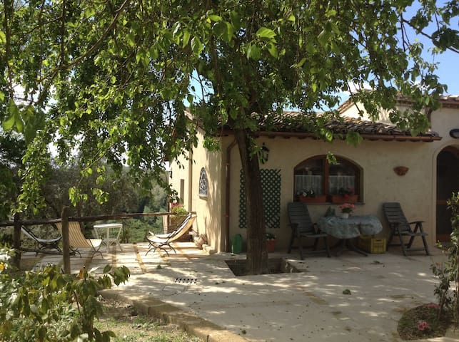 North of Rome cozy country house - Selci Sabino - House