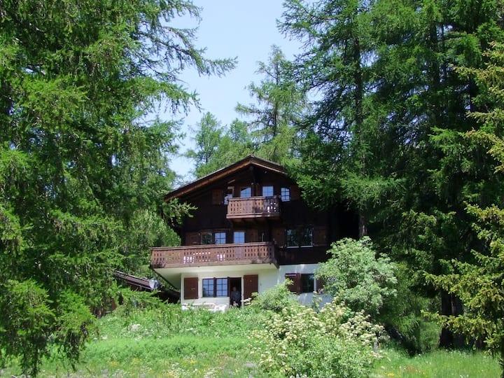 Chalet zum Hirsch, Bellwald - natürliche Idylle