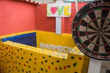 Hammocks Hostel5- Bed in dorm 30000COP (8€)