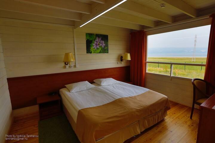 BaikalViewHotel Улучшенный номер с двухспальной кроватью