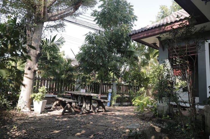 Ayutthaya Single family home with garden