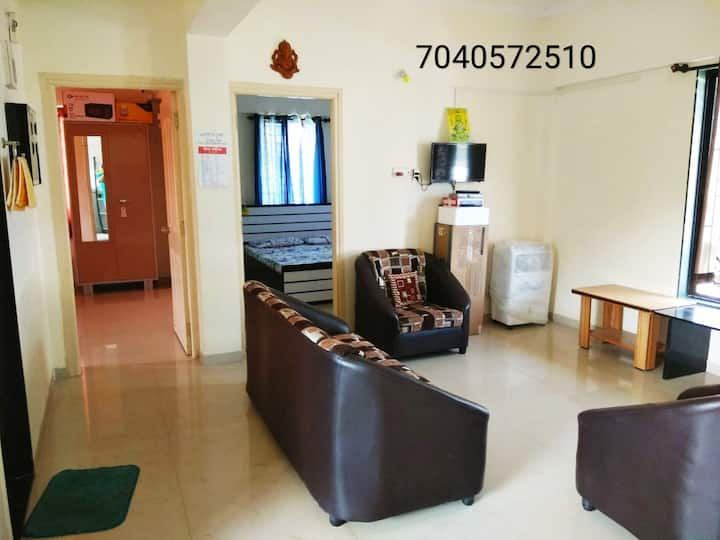 Reena Cottage Entire2BHK AC Apt8min drive to Beach