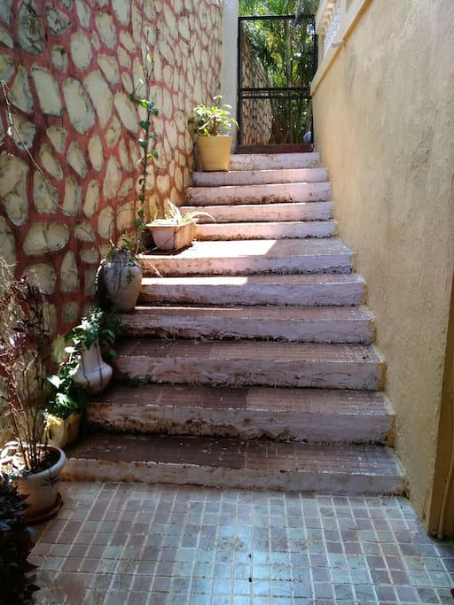 External Stairs to Basement