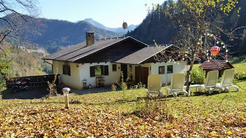 HolyDays - Ferienhaus mit Blockhaussauna