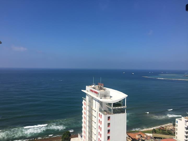 Ocean View Apt 40% discount  Cinnamon Grand Hotel